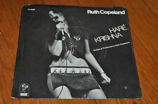 "RUTH COPELAND HARE KRISHNA 7"" VINYL SEXY COVER 1971 ORIGINAL SOUL PSYCH RARE"