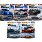 Hot Wheels 2021 Fast and Furious Premium - Fast Superstars - Set of 5