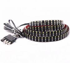 "60"" Tailgate Light Bar 3 Row 432 LED 3 Colors Turn Signal Flowing Brake DRL lamp"