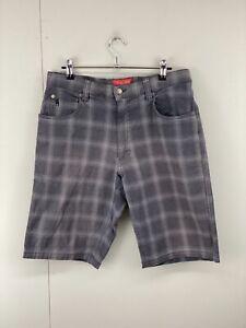 Thomas Cook Men's Casual Zip Close Outdoor Shorts Grey Size 32