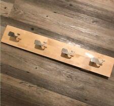 ❤❤❤❤❤ Vineyard Vines For Target Wooden Wall Decor Rack Whale Hooks Coat Hanger