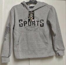 New Boys hoody sweatshirt Grey 5-6 years
