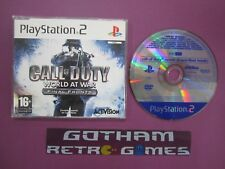 DEMO OFICIAL CALL OF DUTY WORLD AT WAR FINAL FRONTS PLAY STATION 2 PS2