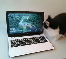"HP Laptop 15.6"" 240GB SSD AMD A8-7410 Quad Core 2.2GHz 8GB RAM UK 15-af100"