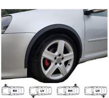 VW GOLF VI  '08-12 Radlauf Zierleisten Vorne Hinten Satz 4 Stück SCHWARZ MATT