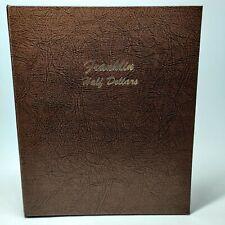 Dansco Franklin Half Dollar Album 1948-1963 No.7165