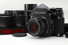 【ALL Late Model MINT 5Lens】 Pentax 67 TTL 6x7 55,90,135,165,200 From Japan #1648