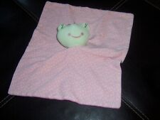 Pink Froggie Lovey Security Blanket Lovely