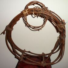 """Woven Craft Grapevine Wreath Hanging Wall Pocket Free Standing Craft 12"""" by 14"""""""