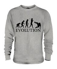PARKOUR EVOLUTION OF MAN UNISEX SWEATER MENS WOMENS LADIES GIFT FREE RUNNING
