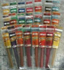 12 or 120 Sticks SCENTWRAPS Strong Highly Scented Incense Bulk Mix Fruity Sweet