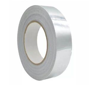 "Non-adhesive Double Sided Aluminum Foil Mylar Tape, EMI RFI Shield, 1""x60yd"