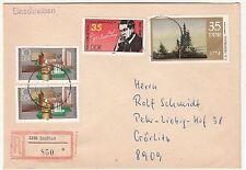 R-Brief Staßfurt nach Görlitz um 1980 ! (B7
