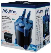 Aqueon QuietFlow Canister Filter 300 GPH, For Aquariums Up to 75 Gallons