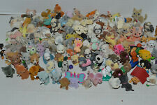 Puppy In My Pocket And Other Fuzzy Flocked Miniture Pets~10 Random~No Duplicates