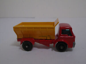 MATCHBOX #70B-3 FORD GRIT SPREADER TRUCK. RESTORED/MODIFIED. RARE DARK YELLOW.NM