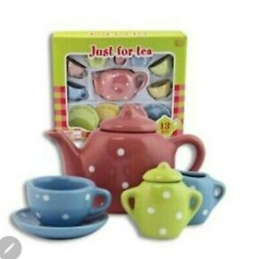 Lollipop Toys Just for Tea 13 Pcs Porcelain Set