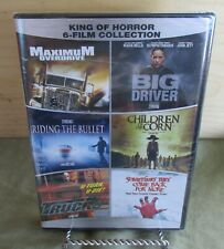 Stephen King of Horror 6 Film Collection on 4 DVD's Maximum Overdrive New Sealed