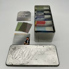 More details for james bond trade cards game in 007 tin and decoding lenses collection