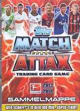 Match Attax 2013/14 aus Liste 20 Basis-Karten und auch Sonderkarten aussuchen
