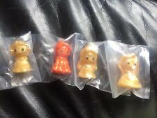 Brand New 4x Disney Halooween Ooshies Limited Orange Belle And 3 Goldens