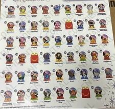 2021 McDonald's Happy Meal Disney's 50th Anniversary Collection #1-50 you pick