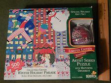 Briarpatch Artist Series 500pcs. Puzzle w/ Matching Ornament (14''x18'') USA_Ltd