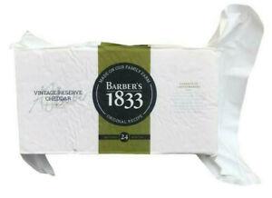 Barbers 1833 Vintage Cheddar Reserve cheese - 1.2kg