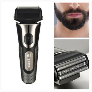 Washable Men's Electric Shaver Razor For Head And Face Fast Charger 3D Shaving