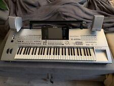 Yamaha Tyros 1 Workstation Keyboard + externe Lautsprecher & Bass