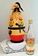 *RARE* Vintage Ukaranian Cassock Bottle Holder & Vodka Bottle / Liquor  Barware