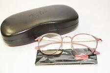 Ray Ban Brillenfassung RX 6378 2973 49 Damen Metall Brille rose Neu