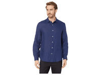 Nautica Men's Shirt Classic Fit Long Sleeve Solid Linen