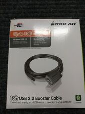 IOGEAR GUE216 16' USB 2.0 Booster Extension A to A Cable for PC and Mac