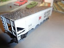HO SCALE LEHIGH VALLEY 4 BAY COVERED COAL HOPPER  TLDX 2722   5-65-15