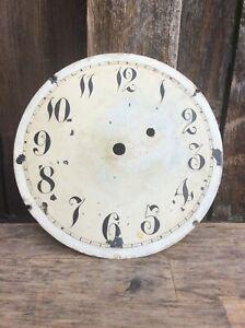 American Weight Driven Banjo Wall Clock Dial