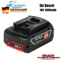 für Bosch Akkus 18V 5000 mAh Li-Ion GBA GDR 2607336092 2607336236, 17618, 25618