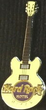 Hard Rock Hotel MACAU 2009 Yellow CORE GUITAR Series PIN 3 Strings - HRC #51596