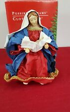 CLOTHTIQUE MADONNA AND CHILD POSSIBLE DREAMS XMAS NATIVITY JESUS &MARY CLOTHIQUE