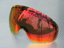 ZERO Goggle Replacement lens for Oakley Crowbar - Red Mirror [zrl-crw-redm]