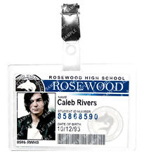 Pretty Little Liars Caleb Rivers ID Badge Cosplay Prop Costume Gift Comic Con