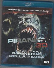 PIRANHA 3D - blu-ray DVD