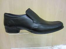 Ikon 100% Leather Slip Ons Square Formal Shoes for Men