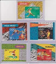 RARE 1992 OLYMPIC COMMEMORATIVE STAMP CARD AND STAMP LOT ~ ISSUED IN 1991