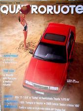 Quattroruote 416 1990 La Volvo 460 berlina 3 volumi. Mazda anti Porsche [Q86]