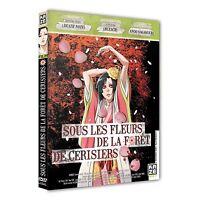 """DVD DIGIPACK NEUF """"SOUS LES FLEURS DE LA FORET DE CERISIERS"""" manga"""