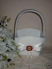 Wedding Ceremony Party ~Fireman Firefighter~  Flower Girl Basket  Maltese Charm