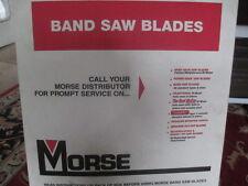 2 NEW MORSE METAL BAND SAW BLADE: 10' 10'' x 1.083 x .035, 10/14 Teeth/In MATRIX