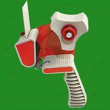 3x Embalaje Cinta Mano Dispensador Guns para Paquetes con 50mm X 66m