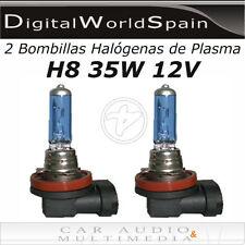 2 BOMBILLAS HALOGENAS DE PLASMA H8 35W 12V LUZ MUY BLANCA HOMOLOGADAS